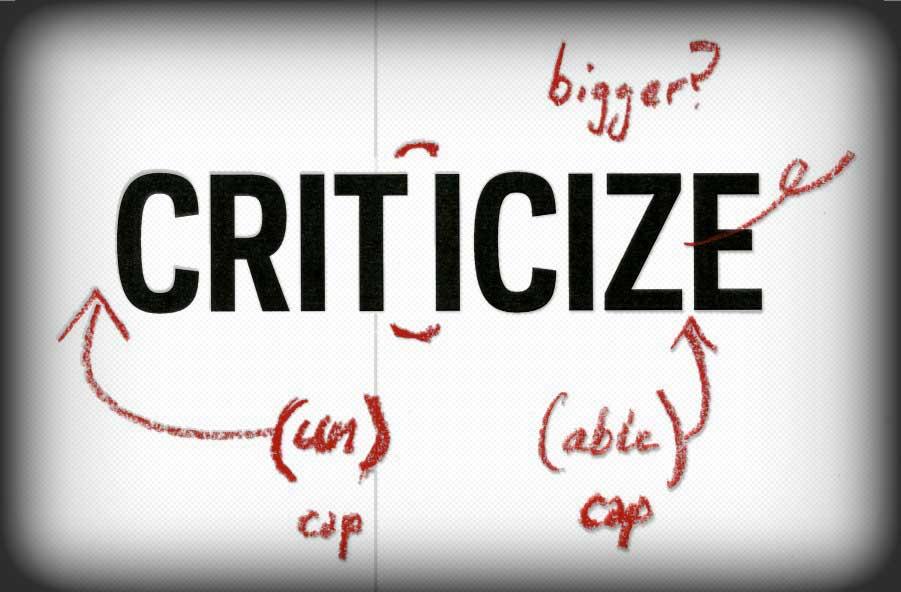 criticismb
